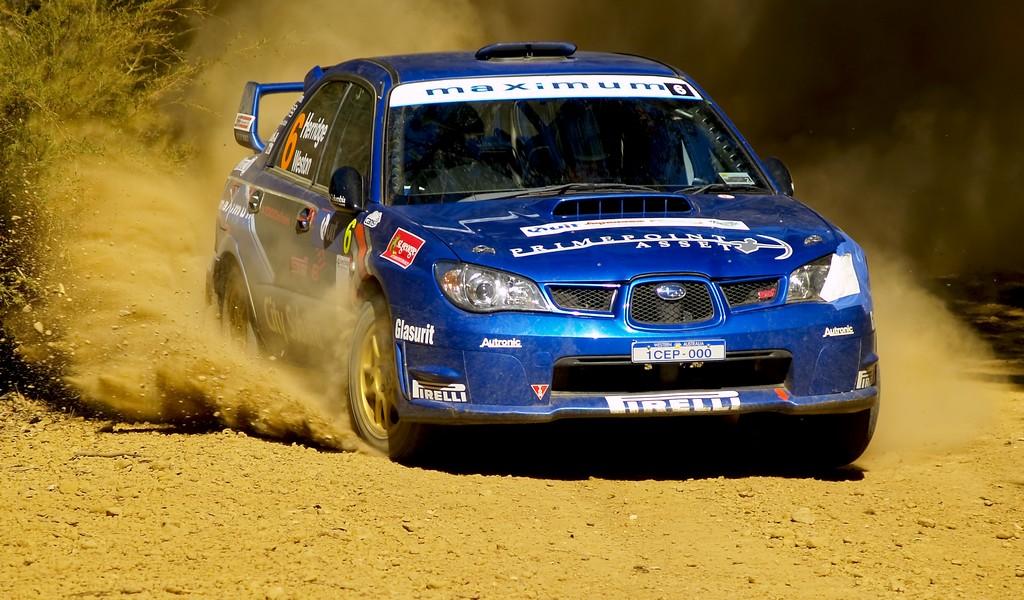 Dean Herridge, Quit Forest Rally 2009, by Peter Evans - flickr.com/photos/hawk23/