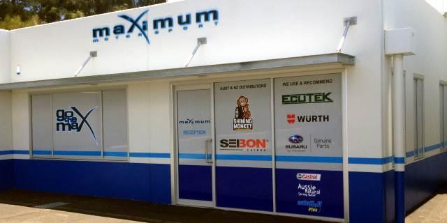 Maximum Motorsport Workshop