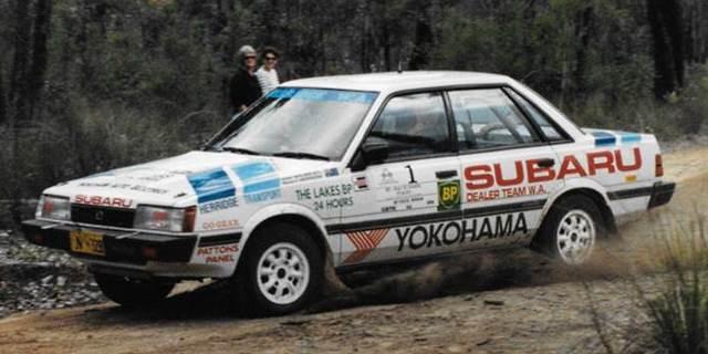 Rob Herridge, Subaru Rx Turbo